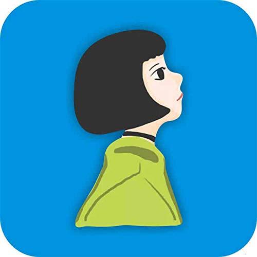 SYSFOUR Corea del Sur Cartoon Gentleman Boy Icons Cool Girl Icons Badge en la Mochila Broches para Ropa Insignias de acrílico para Regalo de niñas, XZ2214