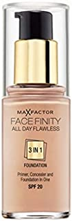 Max Factor Facefinity All Day Flawless 3in1 Liquid Foundation - 30 ml, 75