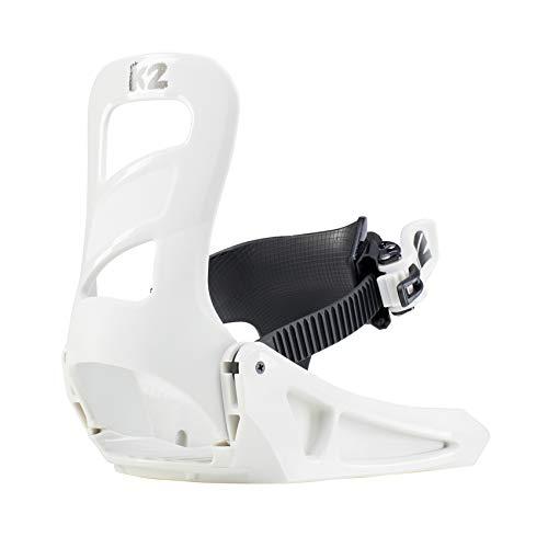 K2 Mini Turbo Grey Fijación Para Snowboard, Niños, Gris, Extra-Small
