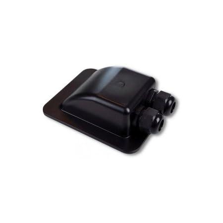 Solara Premium Solar Dachdurchführung Dd2 Kabeldurchführung Schwarz Perfekt Für Sat Anlagen Geeignet Auto