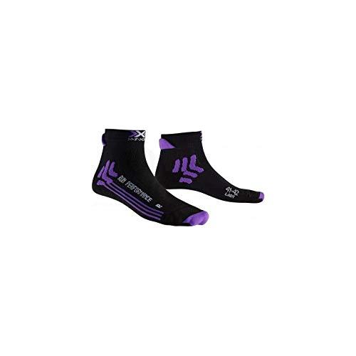 X-SOCKS - Chaussettes Run Performance Femme 41/42 - Violet