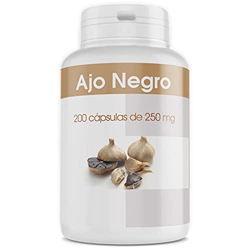Ajo Negro Fermentado - 250 mg - 200 cápsulas