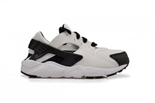 Nike Unisex Baby Huarache Run (TD) Sneaker, Weiß/Schwarz (Weiß/Schwarz-Weiß), 23 1/2 EU