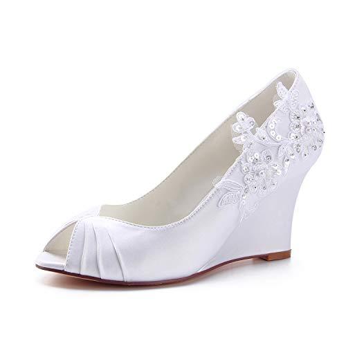 Emily Bridal Zapatos Nupciales Zapatos de Madre de la Novia Zapatos de...