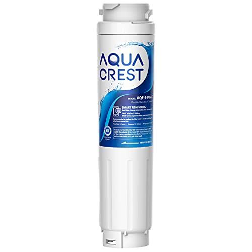 AQUACREST 644845 Filtros de Agua para Frigorífico, Compatible para Bosch UltraClarity 644845, 00740560, 740560, 00499850, 00649379, 9000194412, 9000077104, MIELE/Haier 0060820860, 0060218743 (1)
