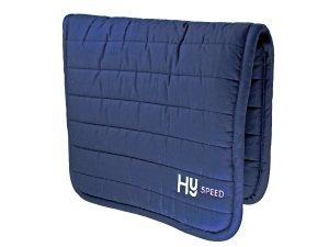 HySPEED Omkeerbare Comfort Pad - Extra Dikte Voor Comfort Voor Uw Paard Of Pony - Geweldig Voor Dagelijks Rijden Of Gebruik Bij Wedstrijden - Verkrijgbaar In Grijs Of Navy