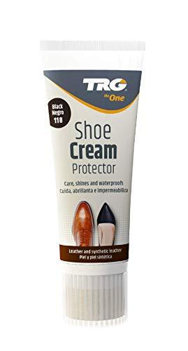 TRG The One - Tinte en Spray para calzado de Piel y Piel Sintética | Ideal para Restaurar o cambiar el color de Zapatos de Piel | Super Color #301 Marrón Oscuro, 400ml