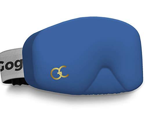 GogglesCover Funda protectora para gafas de esquí y snowboard (azul marino)