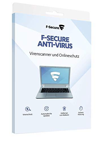 F-Secure Anti-Virus - Update 1 Jahr / 3 Geräte für PC, immer die aktuellste Version [Online Code]