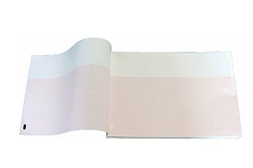 Paquete plegado de papel térmico para ECG compatible con HP/Philips HP/Philips Pagewriter Touch M2483A