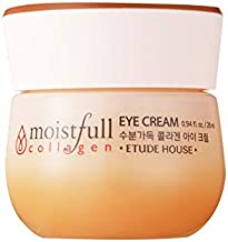 ETUDE HOUSE Moistfull Collagen Eye Cream 28ml | Small Particles of Super Collagen Water Makes Skin Around Eye Full of Firming Moisture and Feeling Bouncy
