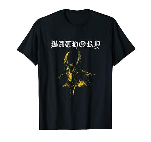 Bathory - Classic Goat Logo - Official Merch T-Shirt