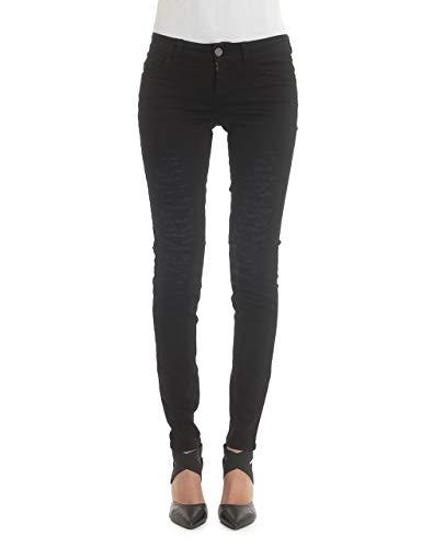 Liu Jo Jeans Frau Bottom Up Fabulous Denim Pants Schwarz (32)