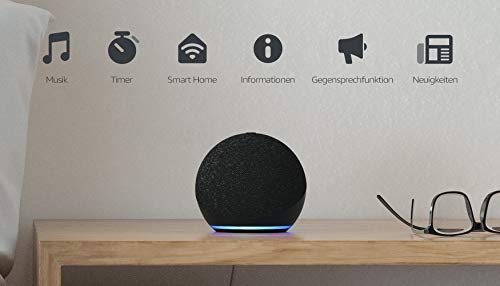 Der neue Amazon Echo Dot - 4. Generation - Sprachassistent mit Alexa