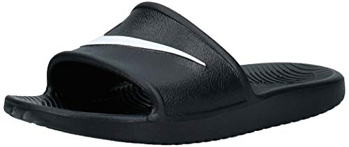 Nike Kawa Shower (GS/PS), Chaussures de Plage & Piscine, Noir (Black/White 001), Numeric_29_Point_5 EU