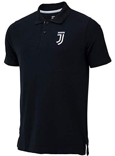 Juventus Herren-Poloshirt, offizielle Kollektion M Schwarz