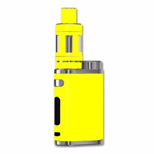 Skin Decal Vinyl Wrap for eLeaf iStick Pico 75w Vape Mod / Bright Yellow