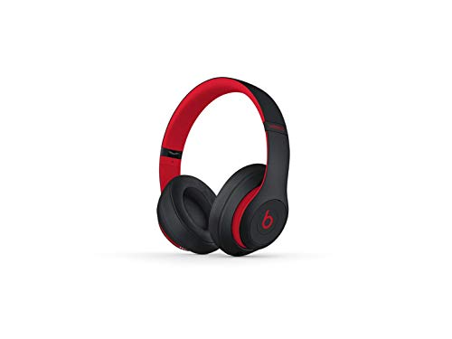 Beats by Dre Studio3 Wireless Over-Ear Headphones - The Beats Decade Collection (Defiant Black-Red)