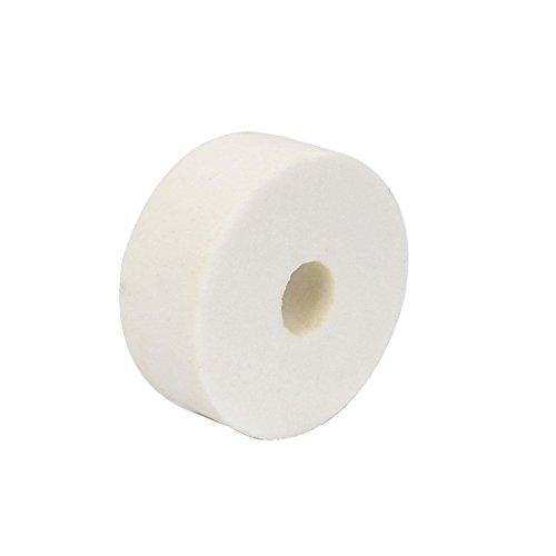 Carborundum Abrasivos Ronda Muela blanca 80 x 32 x 20 mm