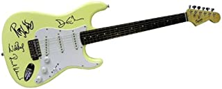 Pink Floyd Autographed Signed Fender Guitar David Gilmour Roger Waters++ Autographed Signed Facsimile