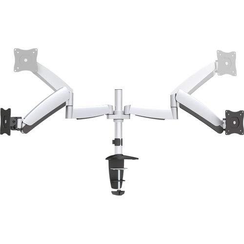 InLine 23160A Tischhalterung mit Lifter, beweglich, für zwei Monitore bis 68cm (27