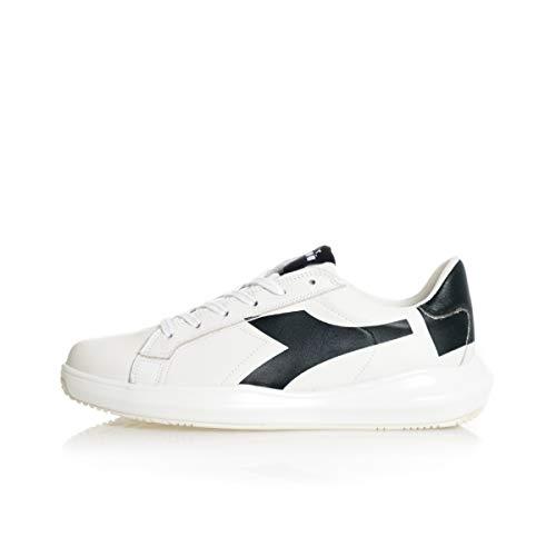 Diadora Heritage Mass Damper Derby Sneaker Uomo 501.176334 C0351 Bianco Nero (Numeric_41)