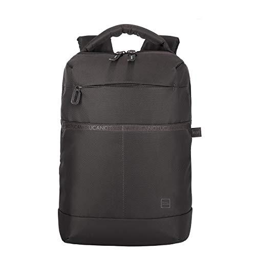 Tucano - Astra Backpack Backpack, Zaino Viaggio Porta Pc Compatibile con MacBook PRO/Air 13' e Laptop 13', in Poliestere Riciclato. Imbottito e Protettivo con Anti Shock System