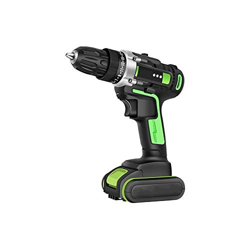 WSMLA Cordless Screwdriver, Electric Screwdriver, Rechargeable Accessories Multifunctional household impact drill