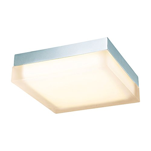 WAC Lighting FM-4012-30-CH 12in 3000K Soft White in Chrome Dice LED Flush Mount, 12 Inches