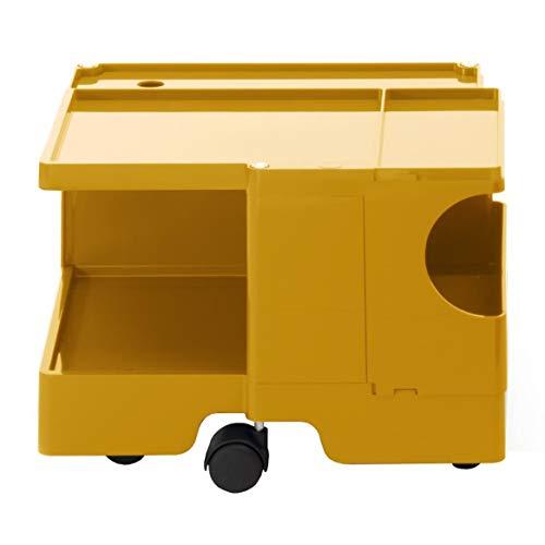 Boby XS 10 Rollcontainer, honiggelb Pantone 7550 ohne Schubkasten BxHxT 43x31,5x42cm Neue Farbe 2019