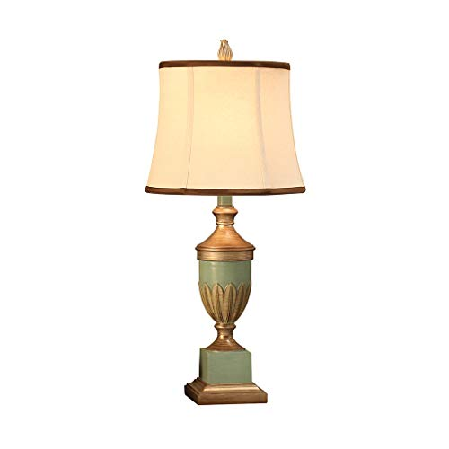 Lámpara de Mesa Lámpara de escritorio Europeo dormitorio de noche retro luz lámpara de escritorio de la sala de estar dormitorio de noche buffet de la lámpara para Dormitorio, Estudio, Salon Etc