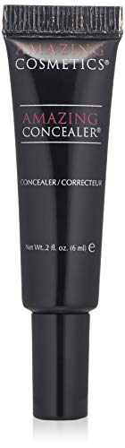 AmazingCosmetics Amazing Concealer, multipurpose full coverage concealer, Light Golden
