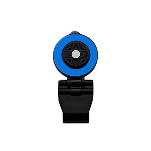 Funnyrunstore Teléfono móvil Joystick 180 ° Flip Mini pantalla táctil Joystick Clip universal en la abrazadera para teléfono Tablet Arcade Game Joystick azul