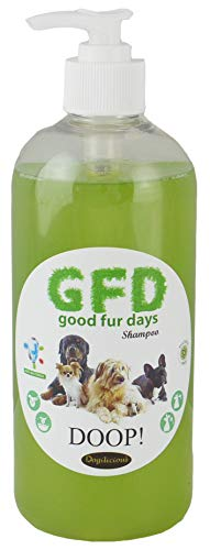 Trade Chemicals Dog Shampoo Anti Bacterial, Sulfate Free, Good Fur Days 500ml Pump Bottle (Doop)