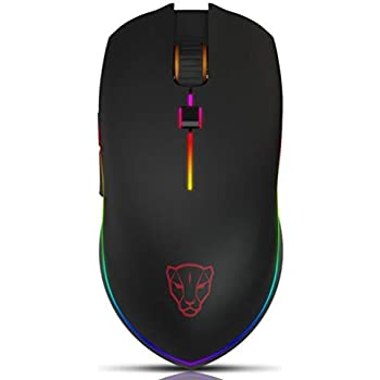 V40 USB Wired Gaming Mouse 6 Button Optical RGB LED Lights Mouse 4000DPI Durable