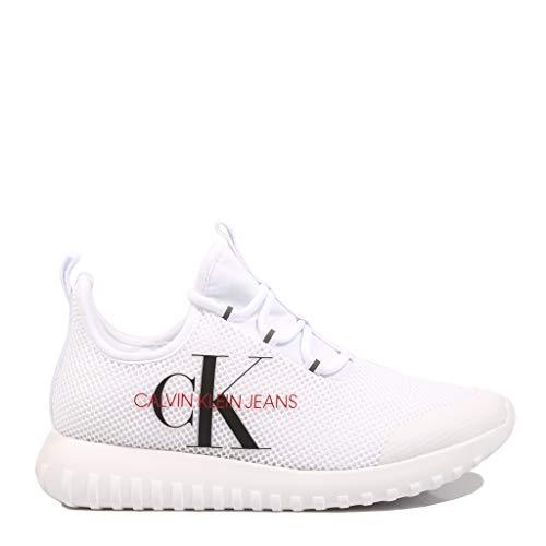Calvin Klein ROSILEE White R1640 Zapatillas para Mujer, 36