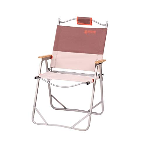 Camping Kruk, eenvoudig opbergen Klapstoel Portable Outdoor Chair Camping Stoel Camping vissen stoel (Color : B, Size : 62 * 53 * 88CM)