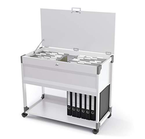 Durable 378710 System File Trolley 100 Multi Top, grau