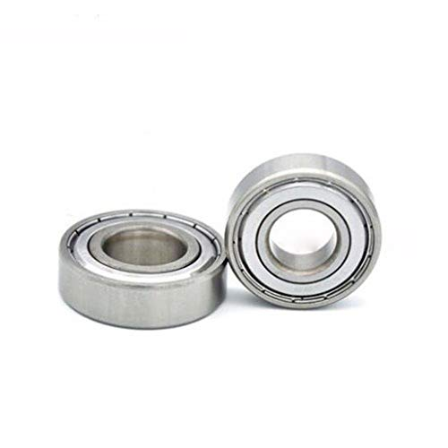 MDD 5/10 Pcs 603zz 604zz 605zz Rs 606zz Rs 607zz Rs 608zz Rs 609zz Miniature Deep Groove Ball Bearings, For 3D Printer Diy Accessories (Color : 5PCS, Size : 607zz)
