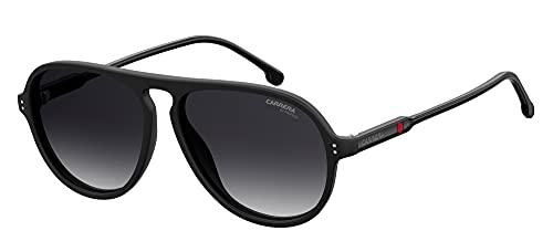 Carrera Gafas de Sol 198/N/S Matte Black/Grey Shaded 57/14/145 unisex