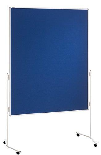 Franken ECO-UMTF03R Moderationstafel (120 x 150 cm) filz blau