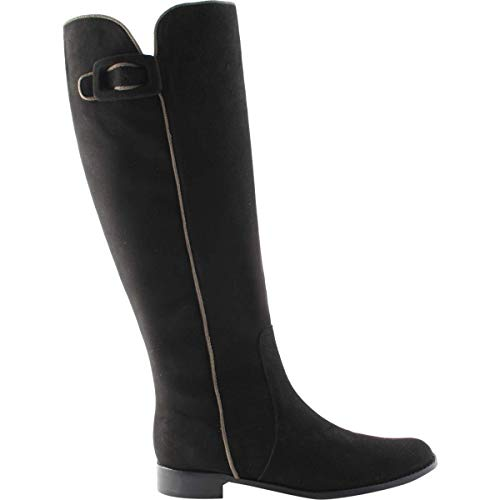 Exclusiv Paris Nubuck Stiefel Allegra, Schwarz - Schwarz - Größe: 36 EU