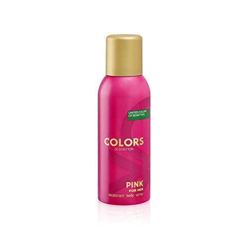 Benetton Colors de Benetton Pink Deodorant Spray 150ml