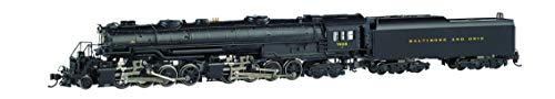 Bachmann Trains - EM-1 2-8-8-4 DCC Sound Value Equipped Steam Locomotive - B&O #7628 - Later Small Dome - N Scale (80854)
