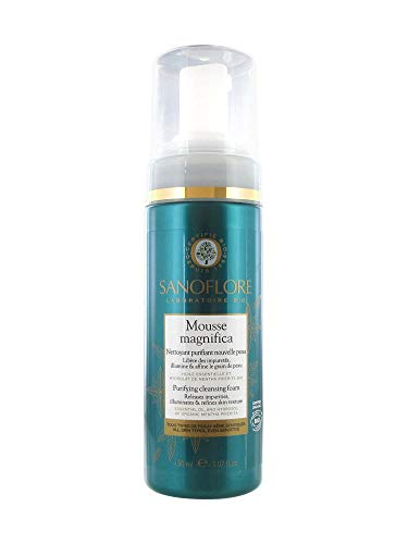 Sanoflore - Mousse Magnifica Nettoyant Purifiant Nouvelle Peau -Nettoyer et purifier le visage - 150 ml