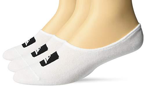 Quiksilver Herren 3 Liner Pack Legere Socken, weiß, Einheitsgröße