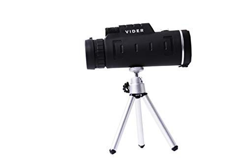Read About Monocular Telescope by Vider 12x52 High Power Prism Scope for Travel Camping Hunting & Bi...