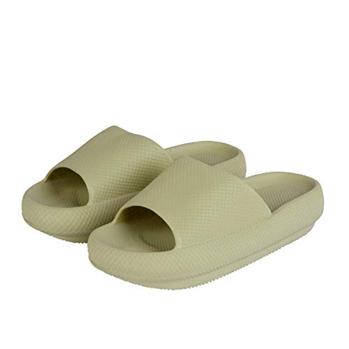 Menore Slippers for Women and Men Quick Drying, EVA Open Toe Soft Slippers, Non-Slip Soft Shower Spa Bath Pool Gym House Platform Sandals for Indoor & Outdoor