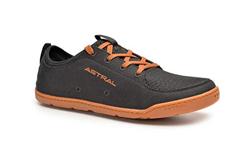 Astral Men's Loyak Barefoot Shoes for Outdoor, Water, Travel and Boat, Black/Brown, 14 M US
