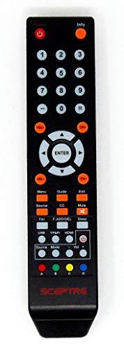 Sceptre TV Remote Control 8142026670003C for E165BV(WV)-SS